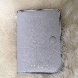 Marc Jacobs White Passport Case Wallet